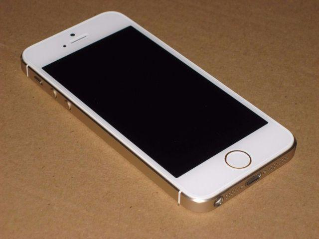 Iphone 5s gold semi novo