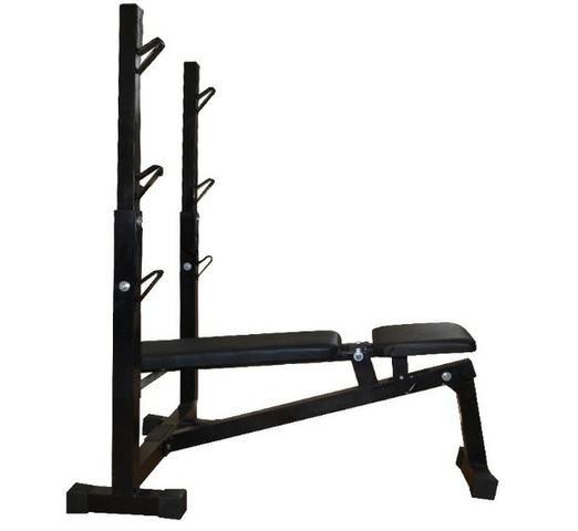 Banco Supino Reto, Inclinado E Declinado Para Musculação -Fitness Prado - Foto 3