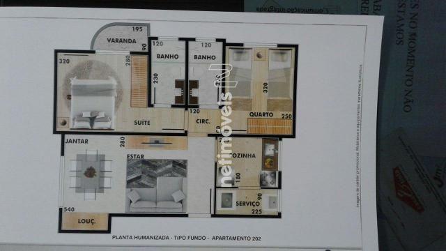 Apartamento à venda com 2 dormitórios em Vila ermelinda, Belo horizonte cod:769616 - Foto 6