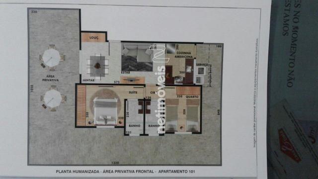 Apartamento à venda com 2 dormitórios em Vila ermelinda, Belo horizonte cod:769616 - Foto 5