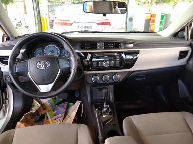 Toyota Corolla Sedan 1.8 Dual VVT-i  XLI (aut) (flex) - Foto 7