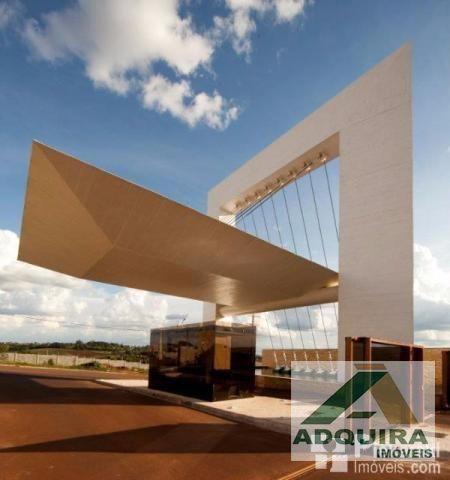 Terreno em condomínio no Condomínio La Defense - Bairro Estrela em Ponta Grossa