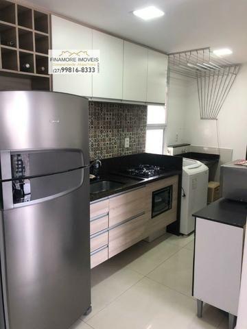 Apartamento com 02quartos/suite 61 m² por R$ 195.000,00 - Praia da Baleia - Serra/ES - Foto 4