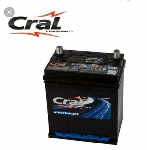 Bateria para Honda City e Fit 38 amperes