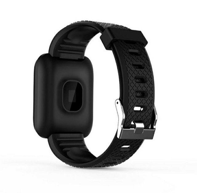 Relógio Inteligente / Smartwatch 116Plus À Prova D 'Água' Água Ip67 D13 / Batimentos - Foto 3