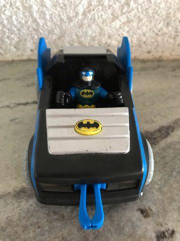 Batmóvel com batman DC comics Imaginext  - Foto 2