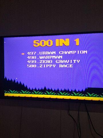Promoção Nintendinho 8 Bits - 500 jogos - Foto 3