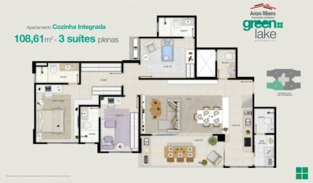 Apartamento na 207 Sul - Green Lake Residence - Foto 15