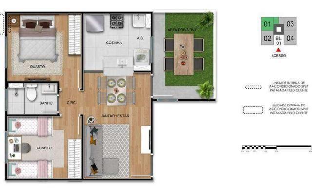 Residencial Princesa Cecília - Apartamento 2 quartos em Pindamonhangaba, SP - ID3912 - Foto 11