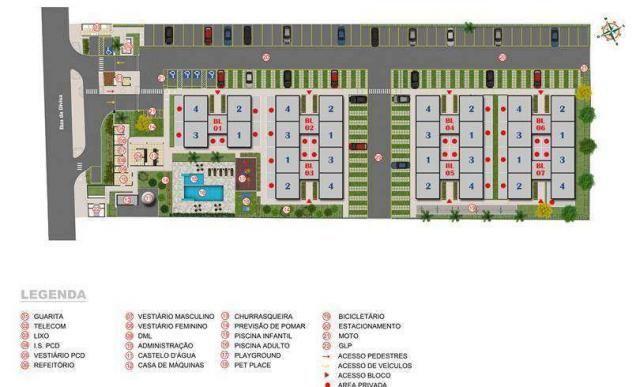 Gran Canária - Apartamento de 2 quartos em Goiânia, GO - ID3850 - Foto 8