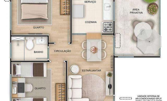 Reserva das Tulipas - Apartamento 2 quartos em Ribeirão Preto, SP - ID3904 - Foto 10