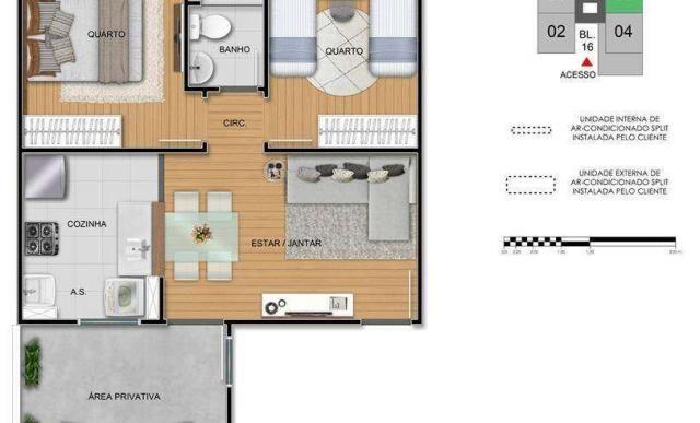 Residencial Turim - Apartamento 2 quartos em Uberaba, MG - ID3888 - Foto 5