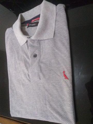 Camisa pólo Reserva G cinza - Foto 5