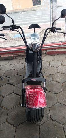 Motocicleta eletrica 60v, chega de ipva,licenciamento ,e gasolina - Foto 4