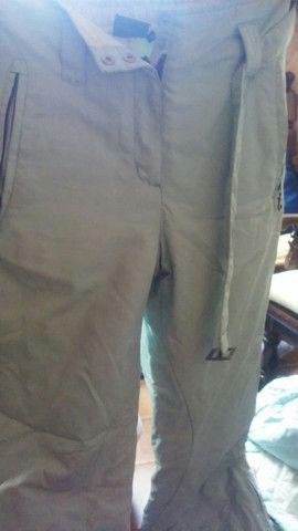 Conjunto para inverno, luvas, calça e jaqueta. - Foto 3