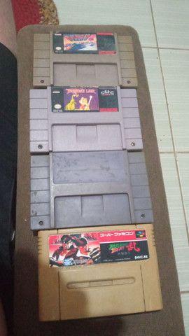 4 Cartuchos de Super Nintendo  - Foto 2
