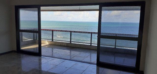 AL98 Apartamento 4 Suítes e Varandas, Varandão, 6 Wc, 3 Vagas, 405m², Beira Mar Boa Viagem - Foto 3