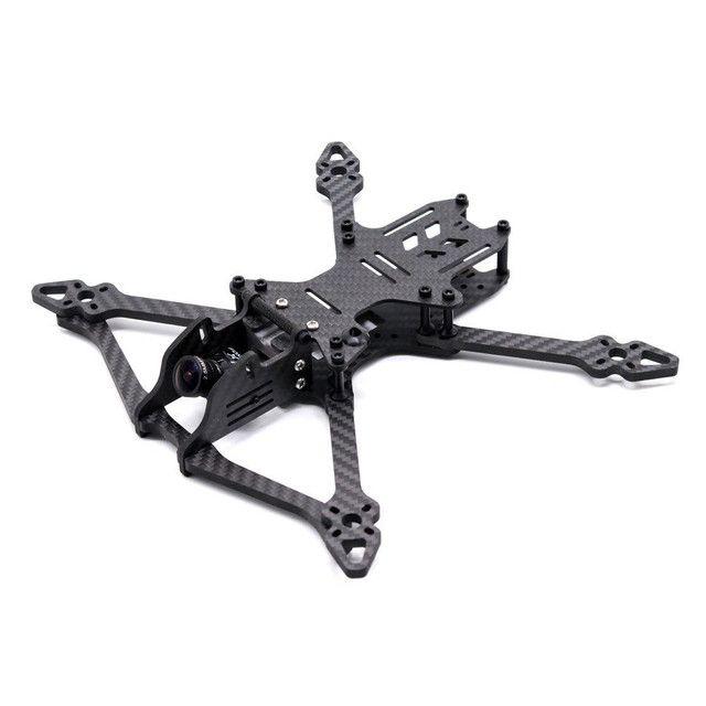Frame em fibra de carbono para drone racer