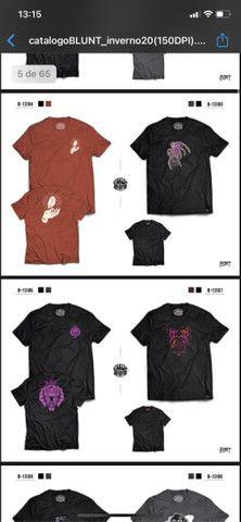 Camisas oficiais Blunt  - Foto 2