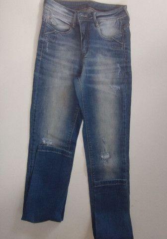 3 calça jeans  40,00 - Foto 3
