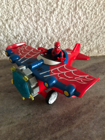 Avião aranha Marvel homem aranha spiderman Imaginext  - Foto 4