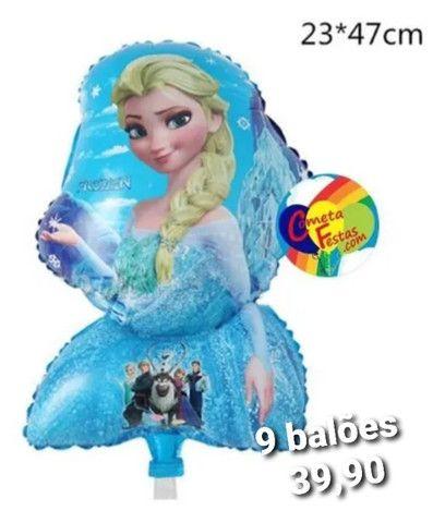 Balões Metalizados + Palitos - Foto 5