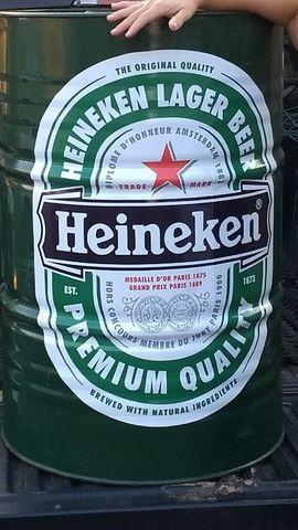 Tambor Decorativo Heineken 200 Litros