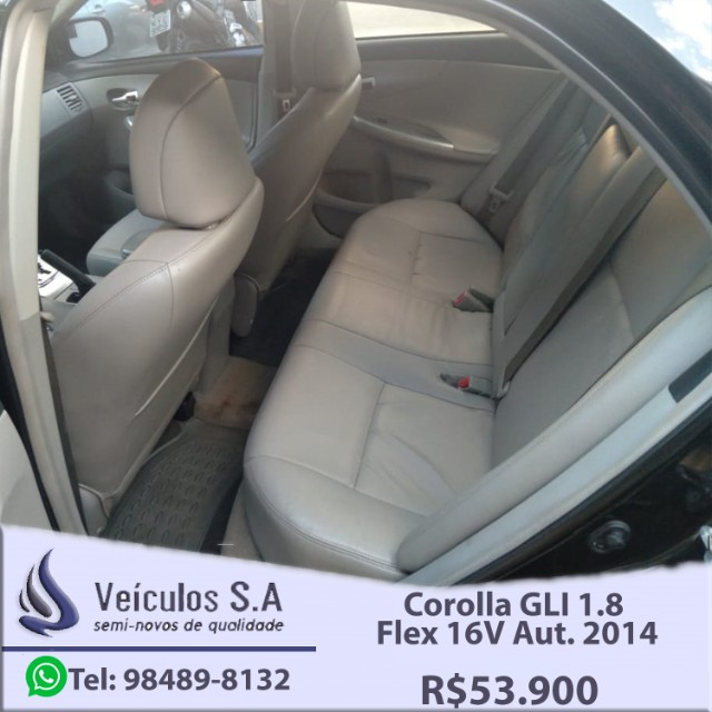 Corolla GLI 1.8 Flex 16V Aut. 2014 - Foto 12