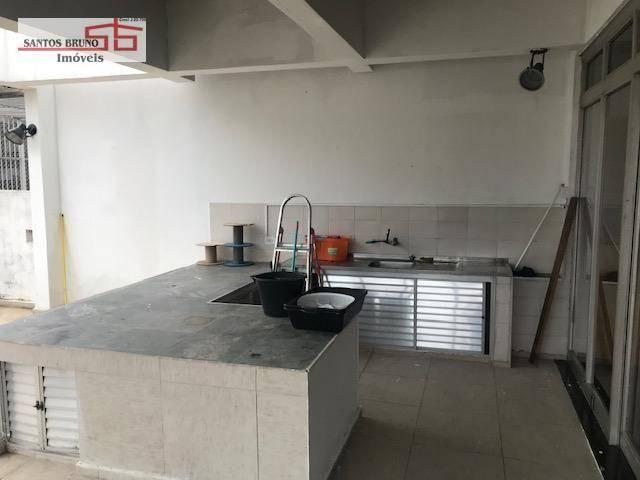 Cobertura 300 m² 4 dorm, sendo 1 empregada, 1 suíte, 3 salas, cozinha e 2 vagas para aluga - Foto 8
