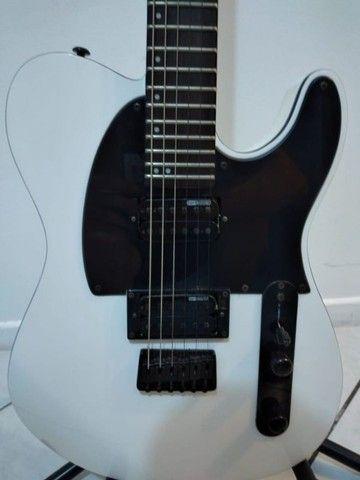 Guitarra Esp Ltd Te200rv Branco White Telecaster - Foto 2