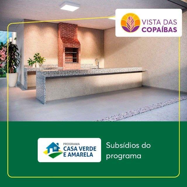 Vista das Copaíbas /  Apartamento 2 QTS com Varanda na Região do Planalto !