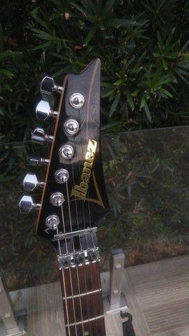 Guitarra Ibanez JS2000 Joe Satriani Signature Impecável! - Foto 4