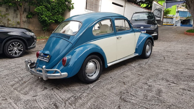 Fusca 1966 azul - Foto 12