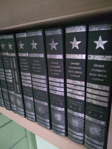 Dicionários e livros