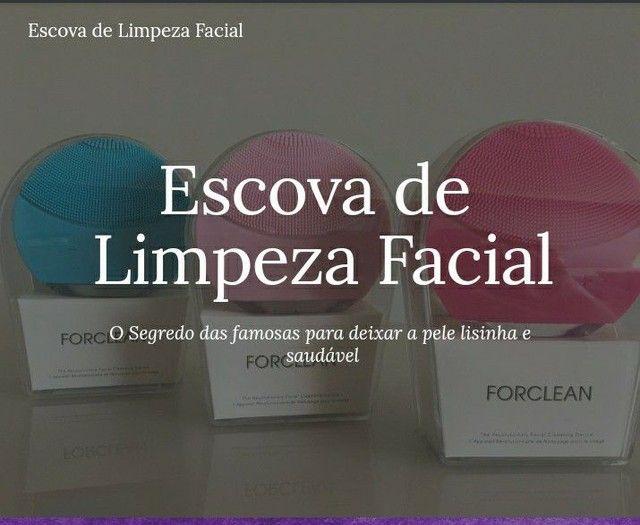 Escova de limpeza facial - Foto 3