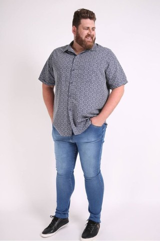 Calças Jeans Plus size masculina. Tamanhos 50 - 54.