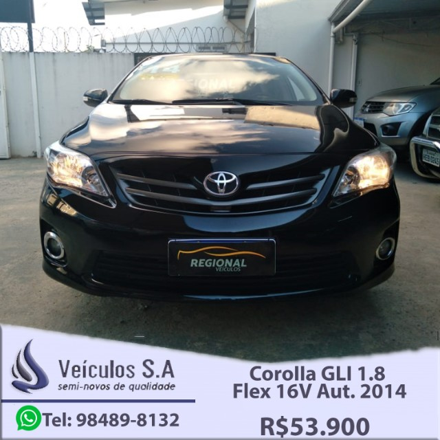 Corolla GLI 1.8 Flex 16V Aut. 2014 - Foto 2