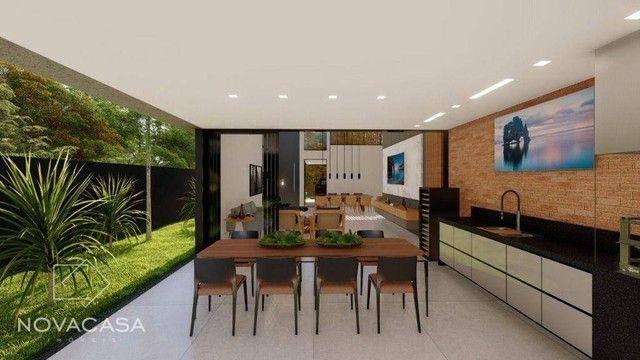 Casa com 4 dormitórios à venda, 318 m² por R$ 1.990.000,00 - Alphaville Lagoa dos Ingleses - Foto 6