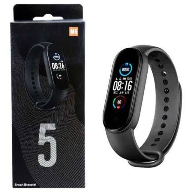 Relógio Smartwatch M5 Fitness Monitor Cardíaco