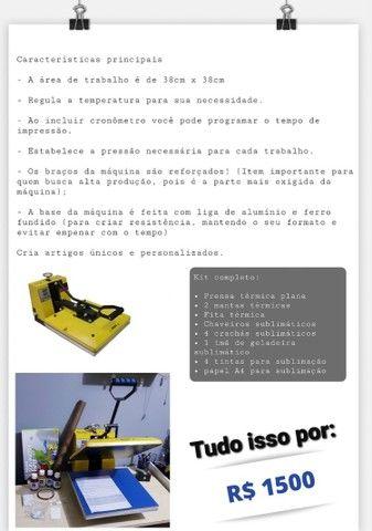 Prensa térmica  - Foto 2