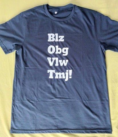 Camisas, camisetas e baby looks de malha de algodão de alta qualidade - Foto 4