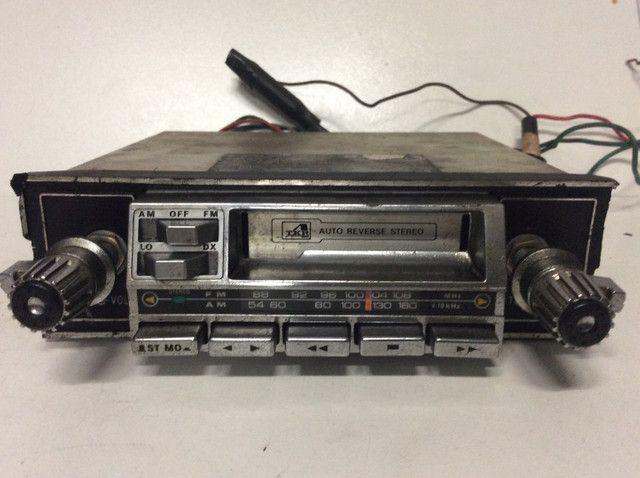 Antigo rádio carro opala fusca Maverick