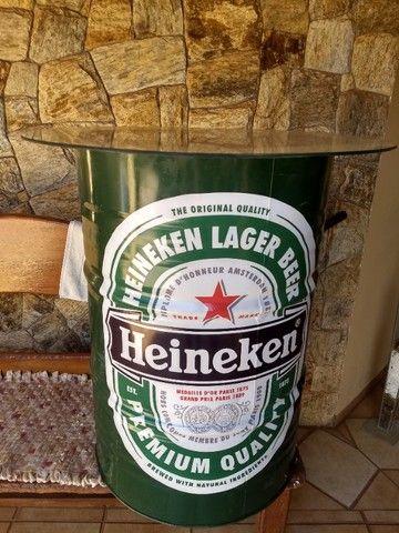 Tambor Decorativo Heineken 200 Litros - Foto 4