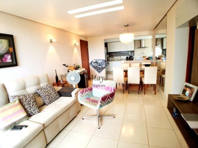 Real Park - Apartamento 3 Quartos, 90 m² c/ armários na 106 Norte - Nascente - Foto 10