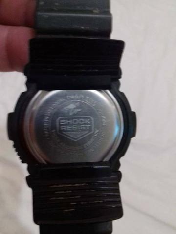 a71256c9ffd Imperdivel Relogio Casio G Shock 200 Mt Original Grande Verde Militar
