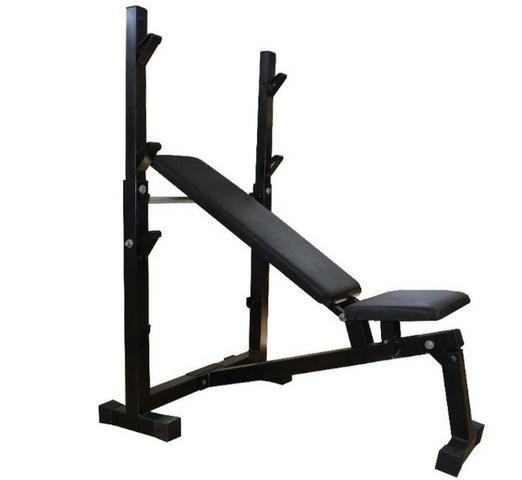 Banco Supino Reto, Inclinado E Declinado Para Musculação -Fitness Prado - Foto 5