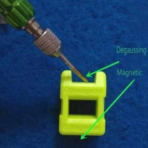 COD-FR4 Mini Magnetizador E Desmagnetizador Chave De Fenda Arduino Automação Robotica - Foto 2