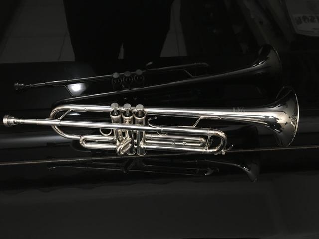 Trompete Yamaha Custon Prata - Foto 2