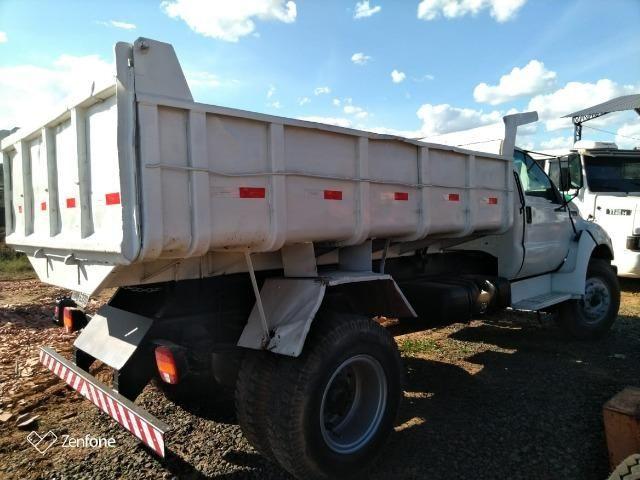 Caminhão f14000 toco caçamba - ano 2001 - Foto 3