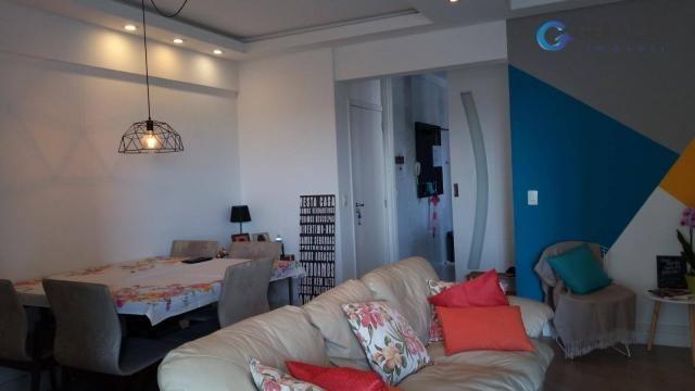 Apartamento com 4 dormitórios à venda, 131 m² por r$ 690.000 - jardim das indústrias - são - Foto 5